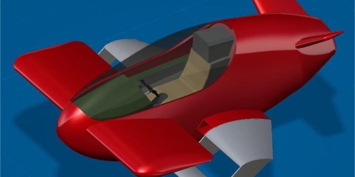 L'Xplorair : la voiture volante de l'an 2000