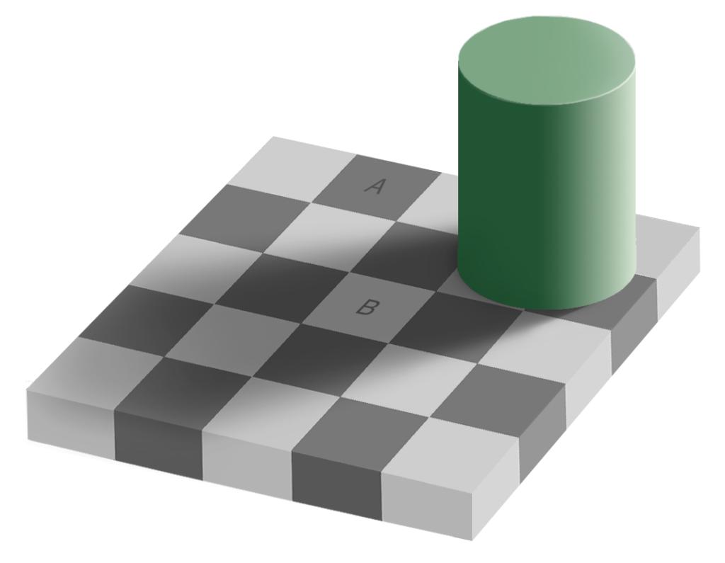 illusion-optique-adelson_couleur_damier