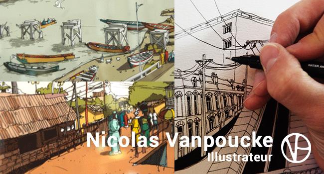 Rencontre avec Nicolas Vanpoucke illustrateur