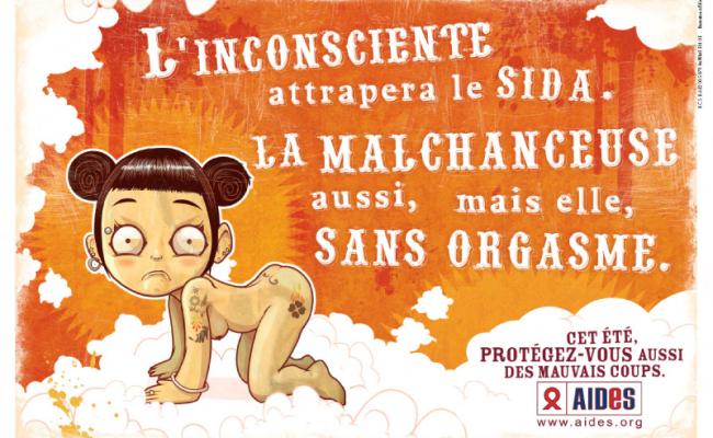 Une campagne décalée de prévention du sida