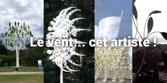 Fleurs mécaniques,  machines à vent ou éoliennes ?