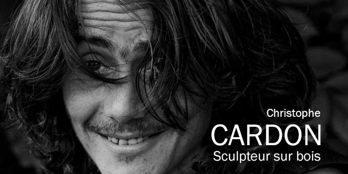Christophe Cardon, sculpteur sur bois