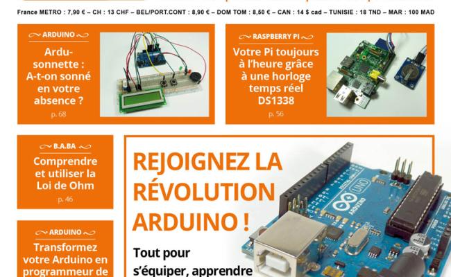 Hackable Magazine, les connaissances de base en électronique
