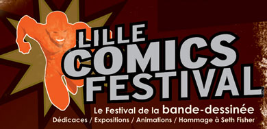 Lille Comics Festival… ce week end