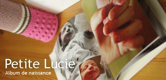 L'album de naissance de Lucie